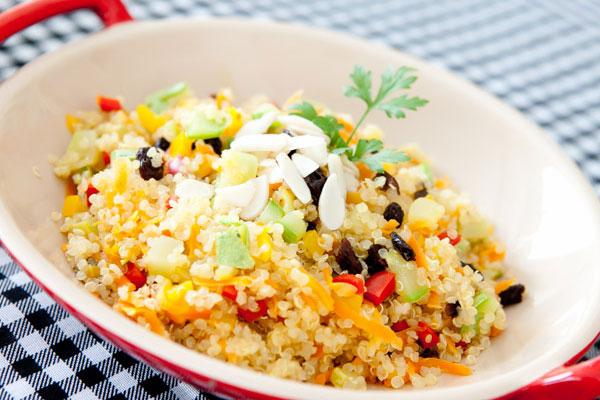 Quinoa à grega Lowcarb